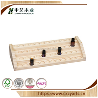 Simple Cheap Hanging Natural china factory high quality 30 compartments wooden essential oil box