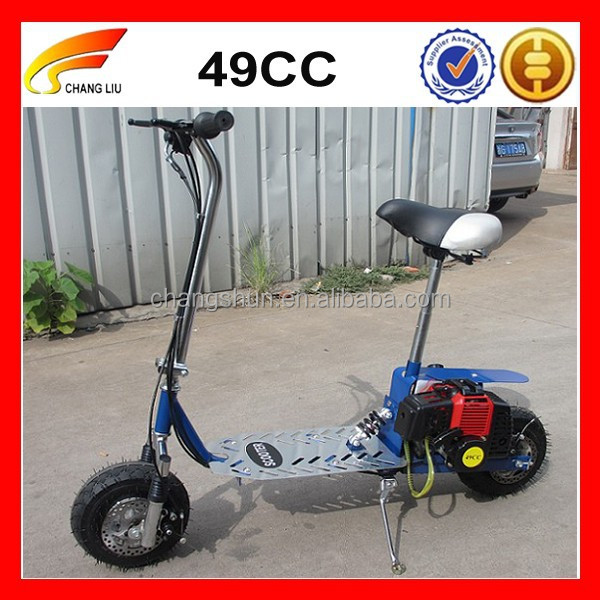 2 Wheel Gas Powered Scooter 49cc Wholesale