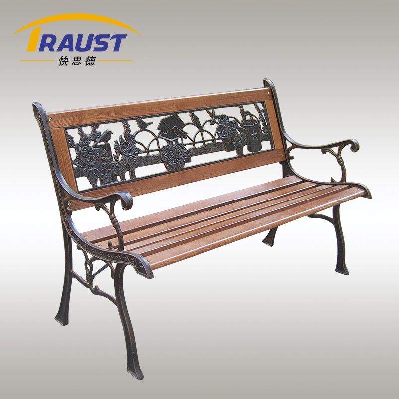 2015 New product wooden garden bench