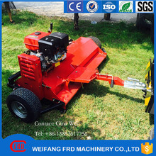 High quality ATV towable flail mower with self engine