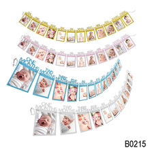 1st Birthday Baby Picture Souvenirs Baby Birthday Banner