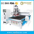 3d high efficiency multi head relief carving cnc router woodworking machine