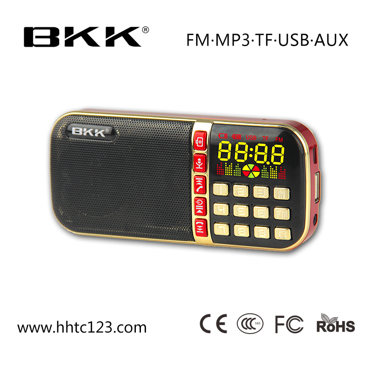 USB Flash Driver Player Bluetooth Speaker, Recording mini Mp3 Player