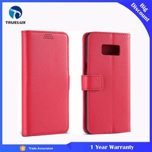 Alibaba Wholesale Case for Samsung Galaxy S7 Edge Lychee Leather Wallet Case With Inside TPU Cover