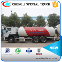 CHINA LOW PRICE ASME STANDARD 24800LITER 10.5 TON 6*4 HOWO right hand drive Propane Delivery Truck