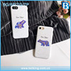 Painting Fancy Polaris Polar Bear PC Full Cover Phone Shell For iPhone 7 7Plus