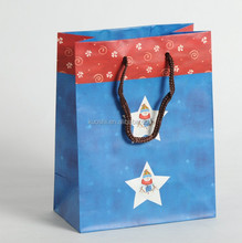 stars and stripes craft paper bag for packing