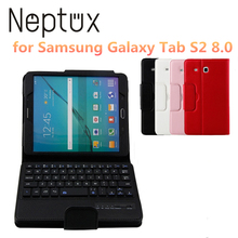 Portable Foldable 8.0 inch Wireless Blue Tooth Tablet Keyboard for Samsung Galaxy Tab S2 8.0