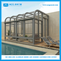 Aluminum villa sunroom and winter garden /Glass sunshine Sun Room House Garden Conservatory Winter Garden