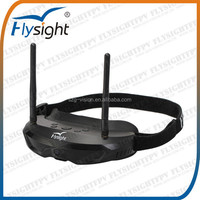C714 FLYSIGHT FPV Goggles 5.8GHz Dual Diversity 32CH Receiver With Head-Track, FPV USA