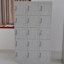 New style export used home folding 15 door steel cupboard wardrobe