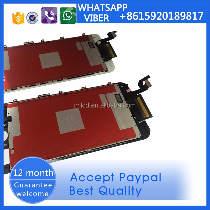 all mobile phone spare parts,6S touch screen digitizer + lcd