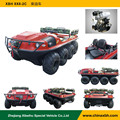 XBH 8X8-2C Diesel-engine Vehicle water and land vehicle go-anywhere vehicle fire fighting truck All-Terrain ATV