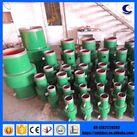 API 5L-X60 DN400 PN25 carbon steel high quality large size isolating joint