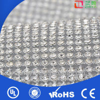 2014 wholesale hot fix crystal rhinestone mesh sheet in roll,crystal rhinestone net