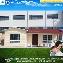 comfortable and bright prefab houses made in china
