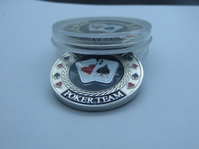 Free shipping high quality custom metal enamel pokerchip