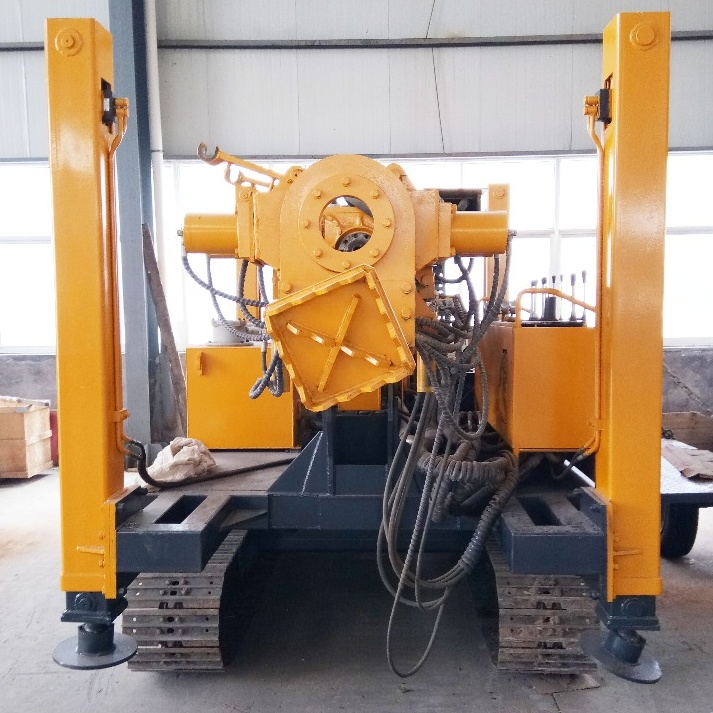 New design all hydraulic crawler mounted rock anchoring drilling rig