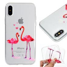 DIY custom print ultra thin soft tpu cases for iPhone X case phone cover