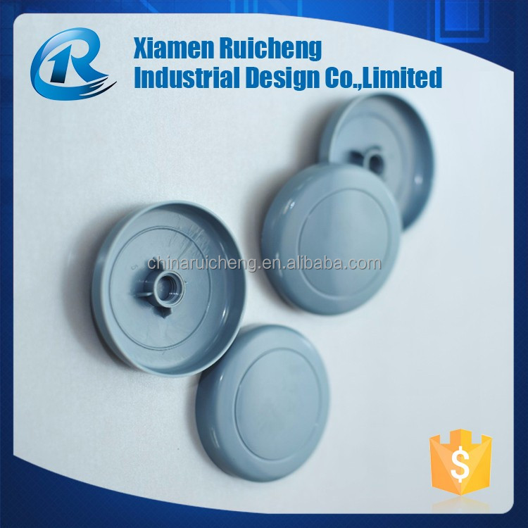 Cheap plastic gray bottle cap molding supplier in china
