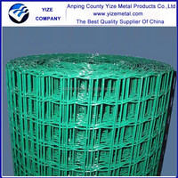 Pvc coated galvanized welded euro fence or holland wire mesh