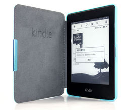 2013 New Multicolor Slim Magnetic Folio Auto Sleep Leather Case Wake Sleep Smart Cover For Amazon Kindle Paperwhite 6'' eReader