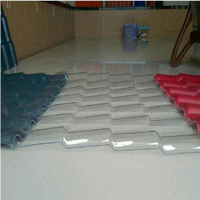 Guangzhou best polycarbonate price UV coated plastic clear corrugated polycarbonate sheet roofing