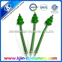 Christmas tree shape ball pen/Christmas gift/2015 lovely christmas tree design ball point pen