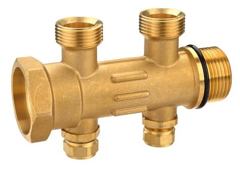 Brass manifold 2 to 8 port,water manifold valve