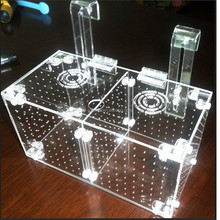 Well-design Top-selling OEM Divider Acrylic Fish Tank With High-Transparent