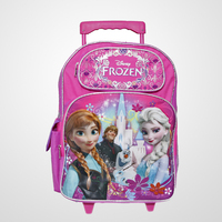 Children Travel Trolley Luggage Bag With Three Main Compartments
