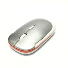 Business Style Flat 2.4G Custom Wireless Mouse