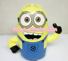 wholesale custom cartoon advertising lovely yellow giant Inflatable minions. for sale