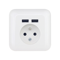 French Electrical Wall Switch Socket With