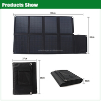 80W triple junction solar cell for outdoors