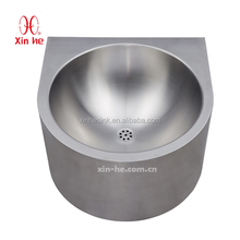 stainless steel hand washing basin for bathroom