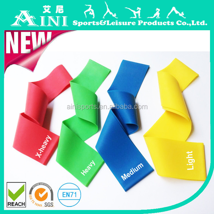 Women/Men Exercise loop resistance bands,heat resistance rubber bands,bulk resistance bands