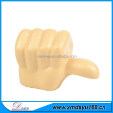 Promotion PU foam thumb stress ball,thumb squeeze toy