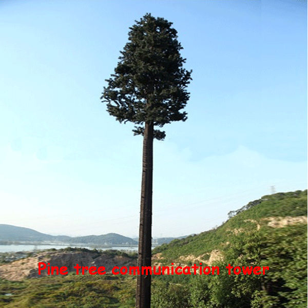 Camouflaged Pine Tree Tower cell tower special solutions for telecom infrastructure china manufacturers