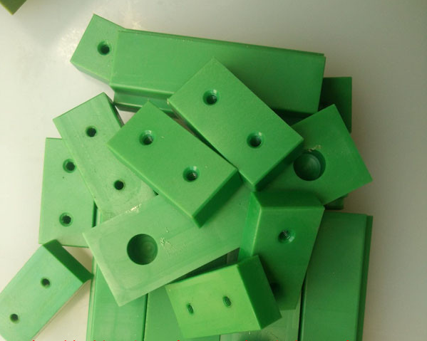 Custom CNC plastic parts for food machinery
