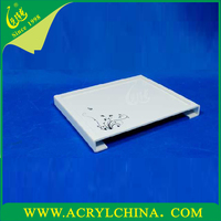 White acrylic towel tray wholesale hotel and restaurant supplies wholesale