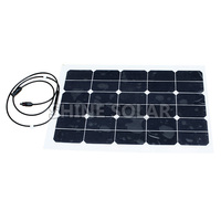 45w sunpower flexible solar panel with hight efficiency