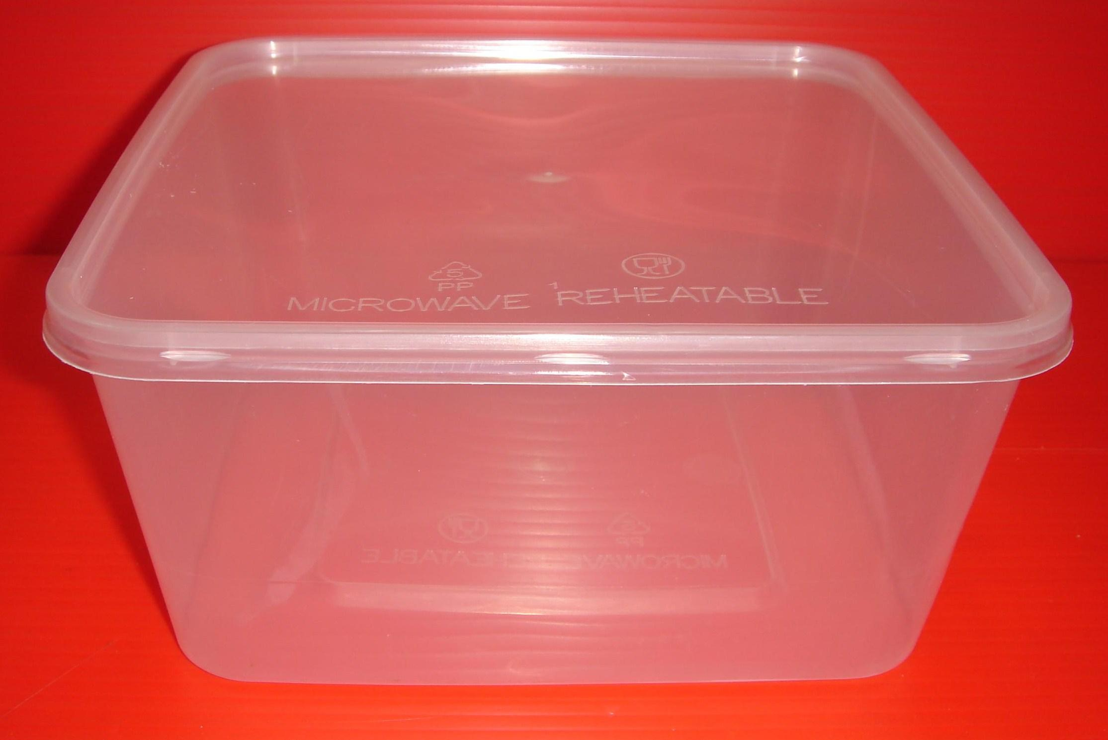 2000ml Square Container