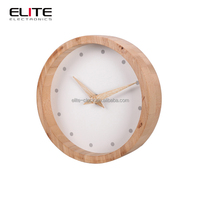 customized promotional largest desinger 6 inch wall clock battery operated