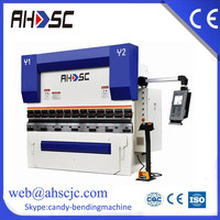 cnc hydraulic press brake alumium sheet bending machine capacity 100tons