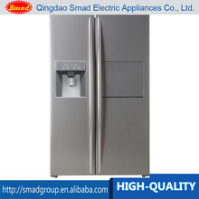 550L Anti-finger stainless steel refrigerator side by side used in home