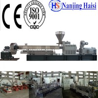 TSE 95A Recycle Plastic Compounding Pellet Making Machine For Sale