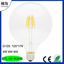 New Hot Search edison bulbs G125 LED filament lamps