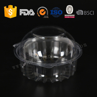 Disposable ps plastic cake box