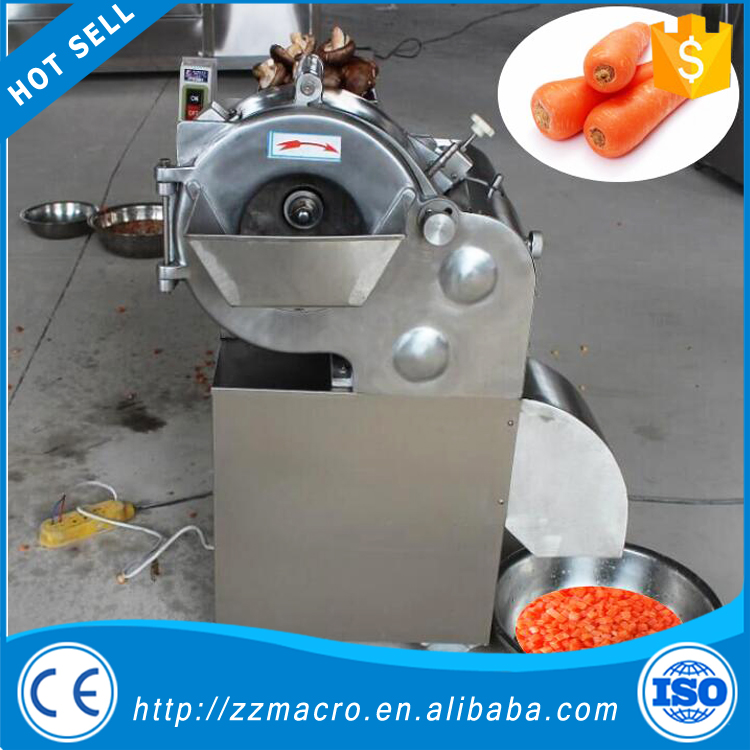 Fruit Vegetable cutting machinery strawberry dicing machine/potato cuber